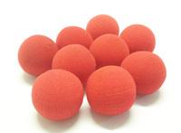 4.5cm 50pc/bag Super Soft Sponge Balls(Red) Free shipping Whosale Card magic,paper mache mask,magic tricks,fire,props,comedy