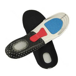 Orthotic Arch Support Shoe Pad Sport Running Gel Insoles Insert Cushion Unisex Free Shipping(China (Mainland))
