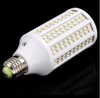 Wholesale 5pcs/lot 12W E27 60 SMD 5050 LED Corn Light Bulb Lamp White 200V-230V free shipping with fast shipping