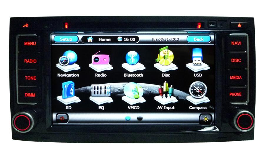 For LSQ Star VW Touareg car dvd player with DVD/CD?mp3/Mp4/Bluetooth/IPOD/Radio/PIP/6V-CDC/TV/GPS!3G! Chritmas Gift!(China (Mainland))