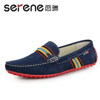 Male casual shoes men genuine leather gommini loafers leather 1111
