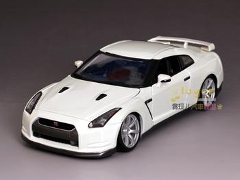 Bburago nissan gtr Ares alloy car model white gift