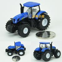 Siku bulimic tractor blue alloy car models toy