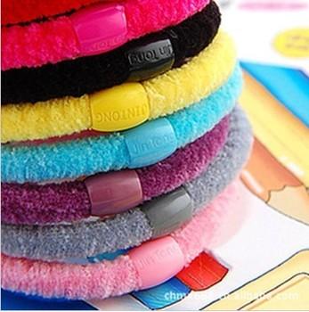 (50pcs/lot)Colorful baby girl hair headband elastic hair rope  hair ornament Free shipping