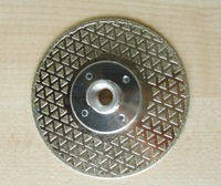 "[CPC-EDB205 ] 5"" inch Diamond electroplated cutting saw blade with M14 Flange"
