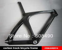 many frame in stock,100% full carbon fiber bicycle track frame,fixed gear