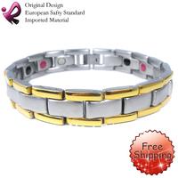 Браслет из нержавеющей стали Qirun 316L Stainless Steel Magnetic Bracelet Bracelet Love OSB-142S 7.75