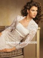 Bolero Wedding dress Accessories for Brides Bridal Jacket JA022 free shipping