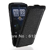 HIGH QUALITY CROCODILE FLIP HARD BACK CASE COVER + SCREEN FOR HTC SENSATION 4G Z710E G14  FREE SHIPPING