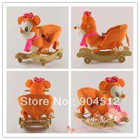 Детские деревянные трясти троянца hobbyhorse 36 шт Ассамблеи игрушка рождественских подарок для детей
