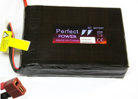 14.8V 4-CELLS 10C 10000MAH LIPO BATTERY AKKU WITH T PLUG FOR RC PLANE CAR BOAT
