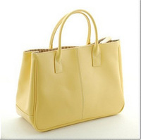 2012 new fashion Korean women's handbag vintage candy color bags brief ol work bags FREE SHIPPING