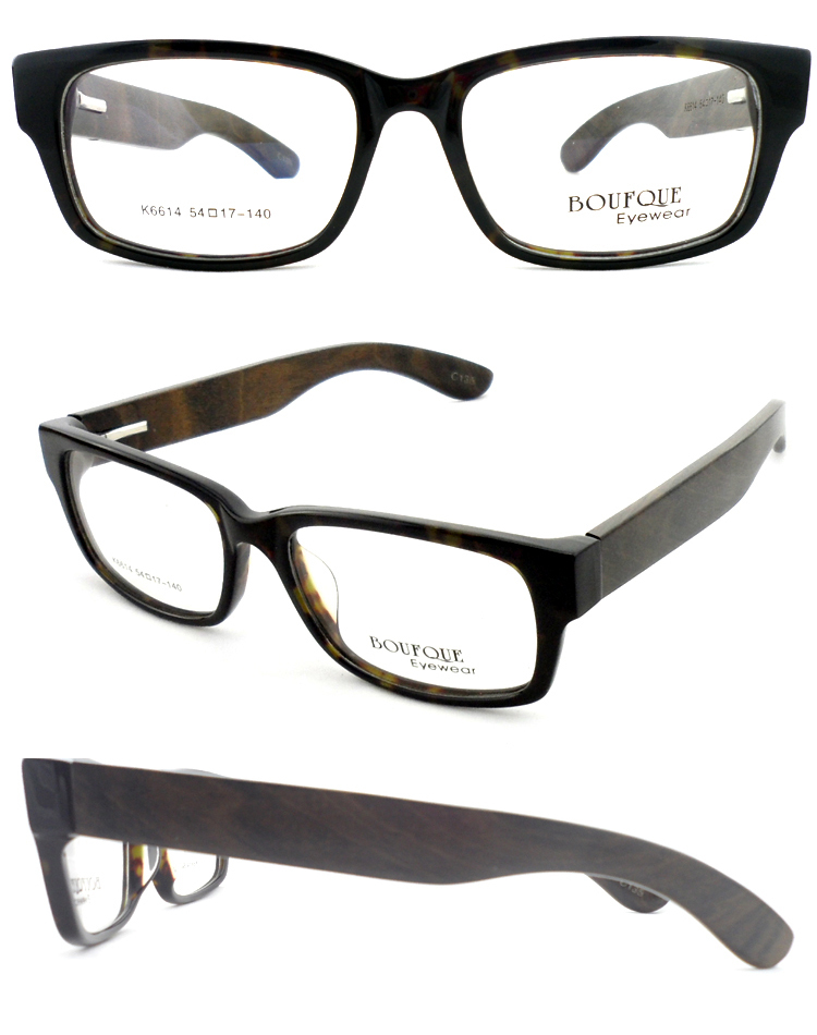 Nature Wood Full Rim Optical Prescription Eyeglasses ...