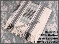 Tactical CQB  KhaKI  NEW womens  cotton  arab  square  kerchief ,free shipping