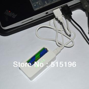Newest Universal Intelligent Li-FePO4 14500 10440 (3.2V) Ni-MH AA AAA (1.2V) battery Charger 1 pcs Free Shipping