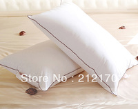 Free shipping100%Superfine fibre  filled with cotton pillow cover cervical health care pillow core quilting