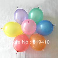 Linkco Balloon Linking Balloons party decoration wedding decorations 100pcs Pearl