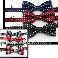 Children's tie double bow tie