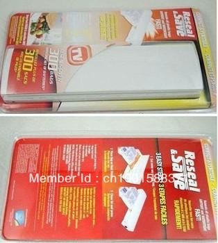 Food Saver Bag Electric Sealer,Sealing bag machines,BLISTER CARD PACK 100pcs/lot