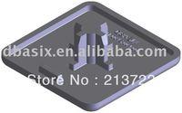 100pcs End Cap profile accessories EC8 40 x 40 UL
