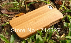 [100% RAW WOOD] 100% Natural Bamboo Wood - Phone/Mobile Case for iPhone 5 (Plain)(China (Mainland))