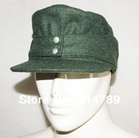 WWII GERMAN WH EM M43 PANZER WOOL FIELD CAP IN SIZES -31733