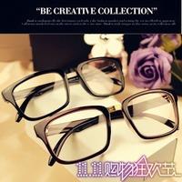 L4 fashion vintage metal glasses frame male girls eyeglasses frame non-mainstream elegant box plain mirror