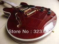 NEW ARRIVAL BEST ES335 ES 335 ELECTRIC GUITAR BORDEAUX