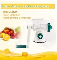 New updated!!!Best Healthy LEXEN Manual Wheatgrass Lexen Juicer / Wheat Grass extractor/hand bender