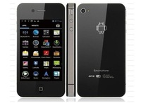 Star W009 Android 4.0 OS MTK6516 Mobile Phone 3.5inch Capactive Touch Unlocked Quad Band Dual Sim AGPS WIFI
