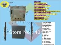 576x576mm  rental LED display
