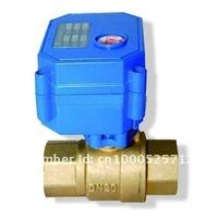 BSP3/4'' electric valve,DC5V 2/3/5 wires for HVAC heating