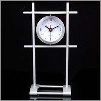 Home decoration aluminium crafts personalized decoration gift clock