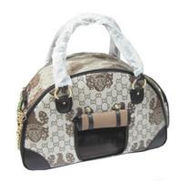 Double window breathable pet bag box pet suitcase dog pack pet bag egregiousness bag