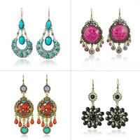Wholesale Mix Lot Earrings Discount Cheap Earring forJewelry Sale  100Pairs/Lot Vintage Earrings