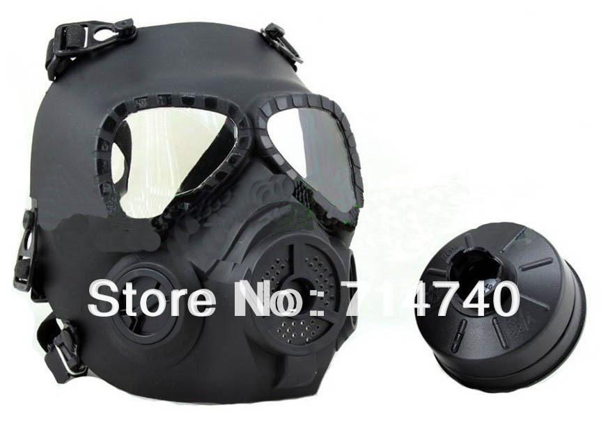 New GEN 4 M04 skull perspiration fog fan GAS mask Face protection Black(China (Mainland))