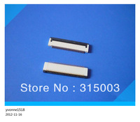 FREE SHIPPING FFC/FPC 33 Pin 0.3mm Pitch flat  flexible cable sockets connector  Bottom port clamshell type