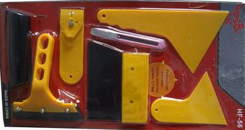 10pcs Vehicle Car Window Film Wrap Tint Application Installation Scraper Tools set Kit