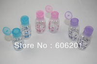 8Pairs  Colourful Barber Cosmetic Lotion Bottles,Cosmetic Shampoo Bottles 30ml
