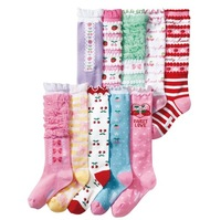 10 pair/lot girls stockings children stocking baby stocking infant  baby  girl gift