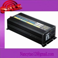 free shippingPure Sine Wave Power Inverter 1000W Peak 2000W DC 12V to AC 240V power converter with battery charger function