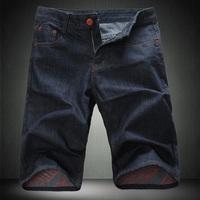 Men's Classic Stylish Handsome Denim Shorts Fashion Shorts Free Shipping