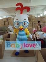 NEW BZTX42-2012 Eye chicken Mascot Adult Costume kids party outfit HOT SALE