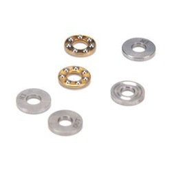 Free Shipping 10 PCS F10-18M 10X18X5.5 miniature thrust ball bearing RC Models(China (Mainland))