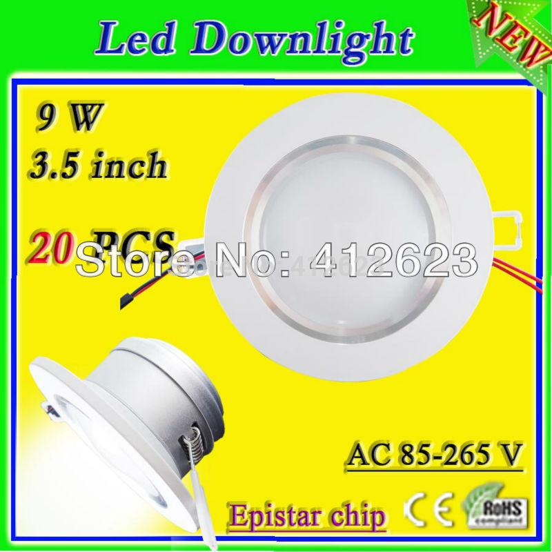 Led Spotjes Inbouw 9 w White Ivory Led Spot Down Light 3 5 Inch High Lumen Inbouw Led