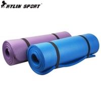 Piece set lengthen broadened thickening 15mm yoga mat yoga mat fitness mat