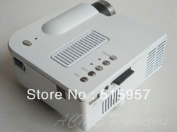 HOT SALE! Home Cinema 1080i Mini Pocket Portable Led Video Game Projector with USB/SD function(China (Mainland))