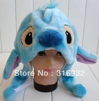 J4 Free Shipping, LiLo&Stitch series Soft Stitch Plush Hat, Christmas Gift