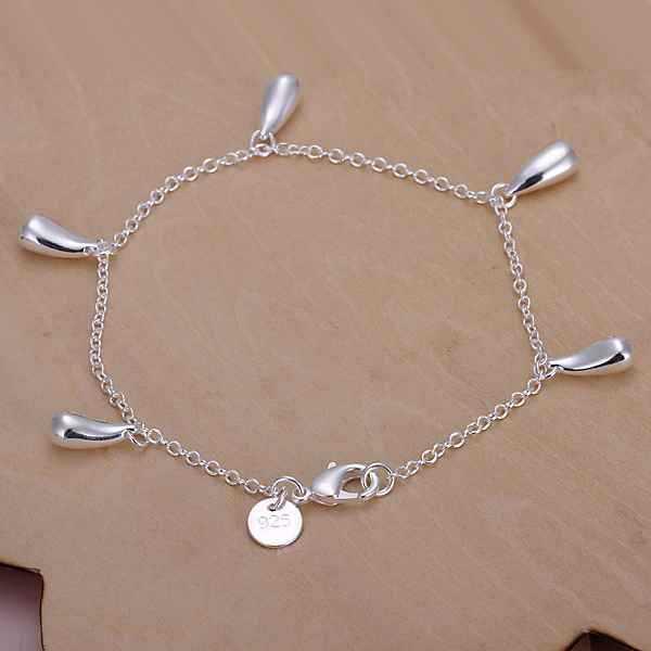 Free Shipping | Wholesale Jewelry | Five water droplets Bracelet | Bracelets | fashion bracelet | christmas | 20CM(China (Mainland))