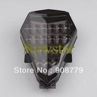 Integrated LED Tail+Turn Light for Yamaha YZF R6 06-07 SMOKE  Free Shipping